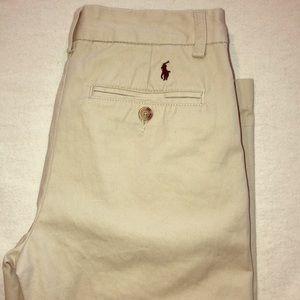 Polo Ralph Lauren 5 pocket Boys Light khakis